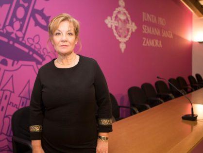 Isabel García, nueva presidenta de la Junta pro Semana Santa