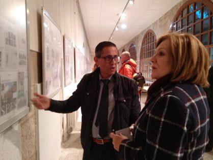 El Colegio Universitario acoge una exposición filatélica sobre la historia de la Semana Santa